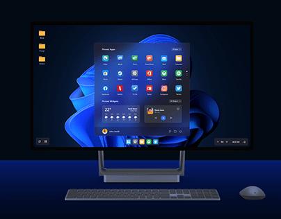 Windows 11 Concept Design