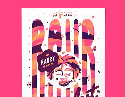 Raur Fest 2016 (Poster)