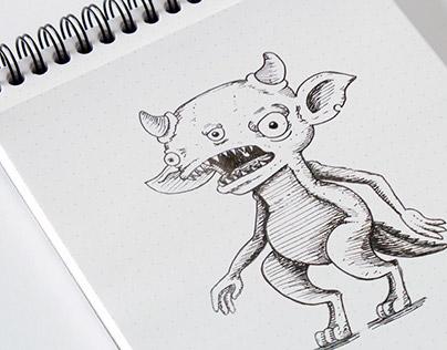 Ilustración Monstruo