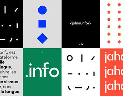 Jahan.info — Branding & UI