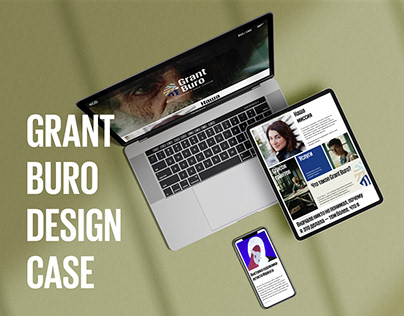 Brand identity for Grant Buro