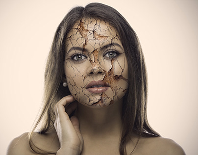Realistic-Cracked-Skin-using