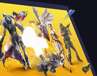 Gaming platform redesign: desktop launcher & web