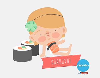 Minidisfraces de Carnaval