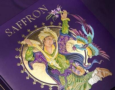 Saffron Packaging Design - Hosseini Brothers