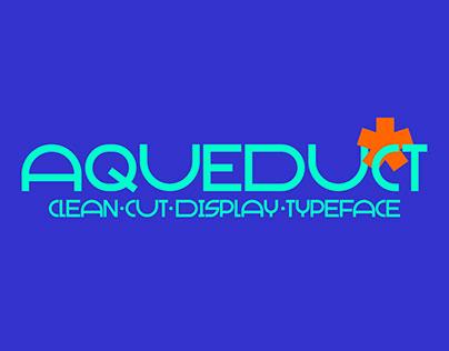 Aqueduct: Display Typeface
