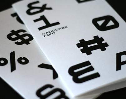 Nadodrze Typeface