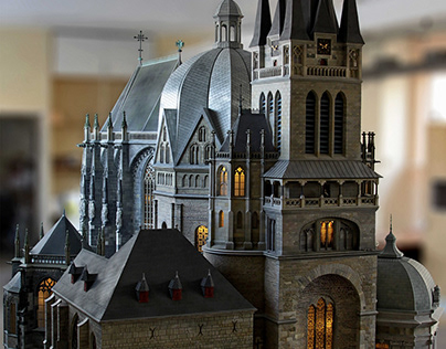 Aachen Cathedral (model)