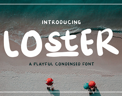 Loster Condensed Font