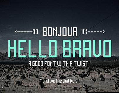 Hello Bravo - Font.