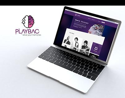 PlayBac Project | Branding, Web Design & Motion