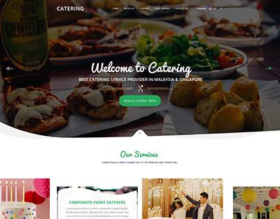 Latest Carting service provider Website Design Template