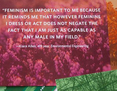 International Women's Day postcards