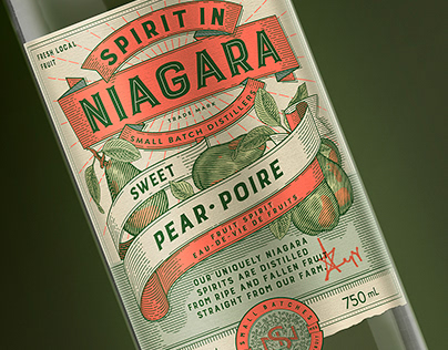 Spirit in Niagara Brand & Label Design