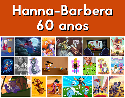 Art Collab 60 Anos Hanna-Barbera