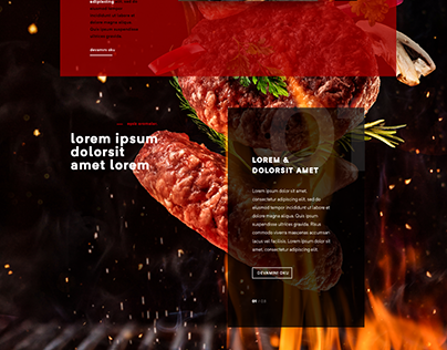 Homepage for a Mountain Restaurant