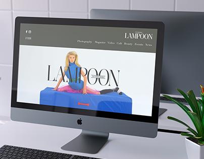 Redesign sito web: LAMPOON