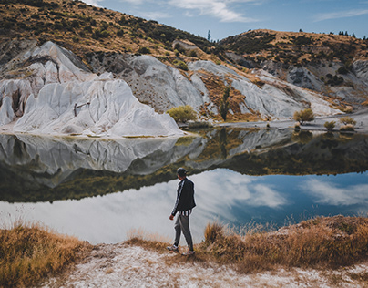 BLUE LAKE WALK, New Zealand