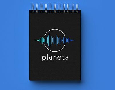 Логотип для вокальной студии Planeta