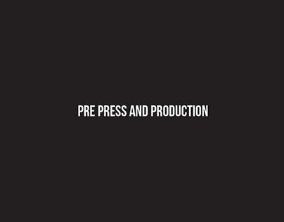 GWDA203 Pre Press & Production