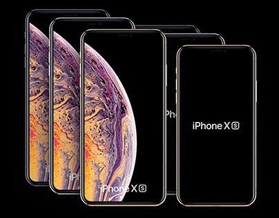 iPhone XS and iPhone XS Max Free Mockups