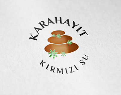 Karahayıt Kırmızı Su Kurumsal Logo Tasarımı