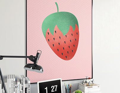 Tutti Frutti - Poster Series n°2 (Apr 2016)