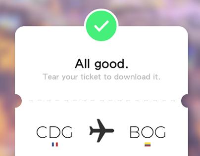 [Mobile] Flight Ticket