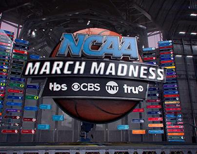 NCAA MARCH MADNESS // TBS CBS TNT TRUTV