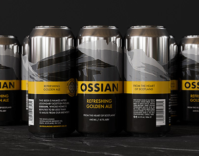 Inveralmond Brewery Ossian Cans / Pack