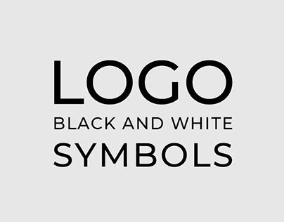 BLACK AND WHITE LOGOS & SYMBOLS