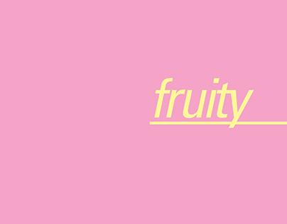 Fruity | Printed Book