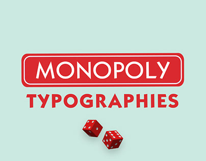 Monopoly Typographies | Typographie