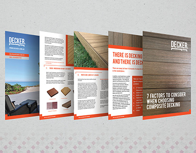Product Brochure: image editing, cover, page layout