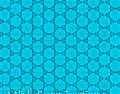 Abstract Turquoise Pattern Collection 1