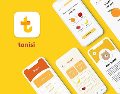 Indigenous Languages App | Tanisi