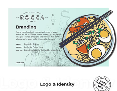 Rocca by the Jar - Restaurant Branding
