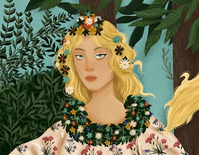 Flora (Botticelli - Primavera (Spring))