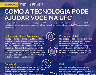 Diagramação revista UFC.
