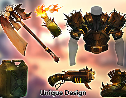 Weapons & Equipments - Supply kit 01
