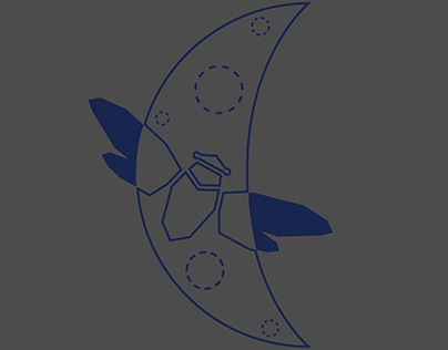 team 5059 name change: Midnight Cicadas logo attempt #1