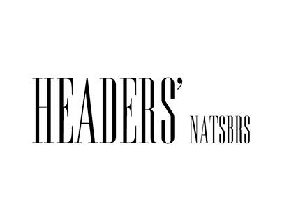 HEADERS' - NatsBrs