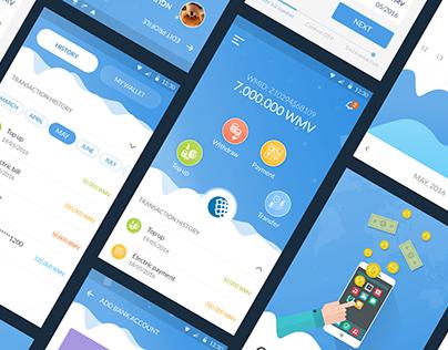 Webmoney Vietnam  application - Online Payment Services