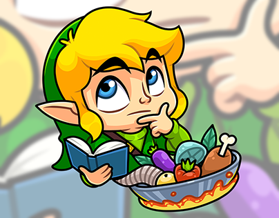 THE HERO OF HYRULE. Telegram Stickers — 2017