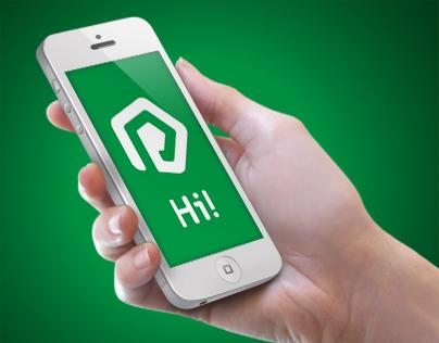 Perfectum mobile new logo concept