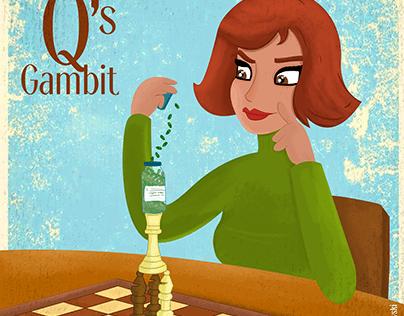 """Queen Gambit"" Fan Art"