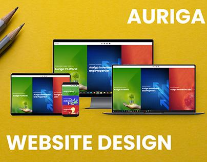 Auriga | UI | Web Design