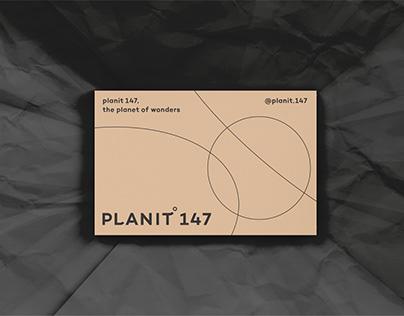 Planit 147 Cosmetic Branding Platform Identity Design