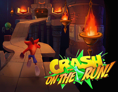 Crash On The Run Concept Art