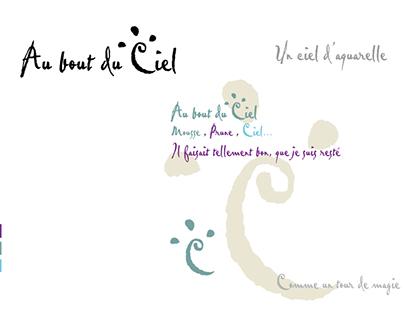 """logo """"Au bout du Ciel"""""""